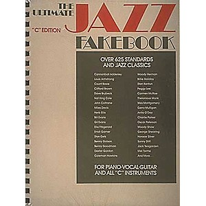 Hal-Leonard-The-Ultimate-Jazz-Fake-Book-for-Piano--Guitar--and-Vocals-Standard