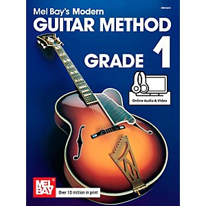 Mel-Bay-Modern-Guitar-Method-Grade-1-Book-Standard