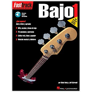 Hal-Leonard-Fast-Track-Method-Bajo-1-Spanish-Edition--Book-CD--Standard