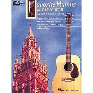 Hal-Leonard-Favorite-Hymns-for-Easy-Guitar-Tab-Book-Standard