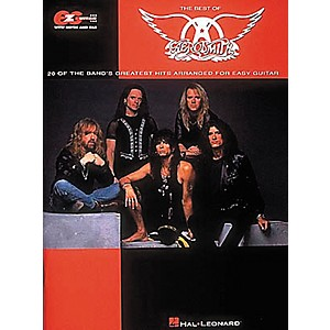 Hal-Leonard-Easy-Guitar---Best-Of-Aerosmith-Guitar-Tab-Book-Standard