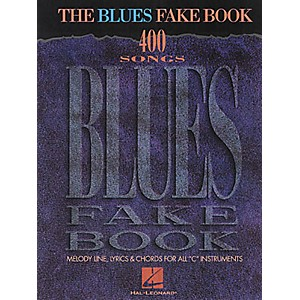 Hal-Leonard-The-Blues-Fake-Book--Standard