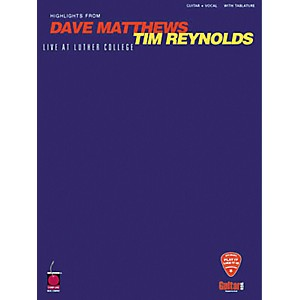 Hal-Leonard-Dave-Matthews---Tim-Reynolds-Live-at-Luther-College-Guitar-Tab-Book-Standard