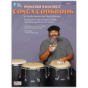 Hal-Leonard-Poncho-Sanchez--Conga-Cookbook--Percussion---Conga-Drums---Congas--Standard