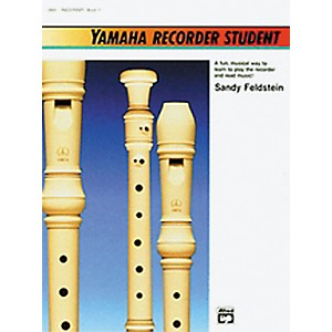 Alfred-Yamaha-Recorder-Student-Book-Standard