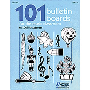 Hal-Leonard-101-Bulletin-Boards-For-the-Music-Classroom-Book-Standard