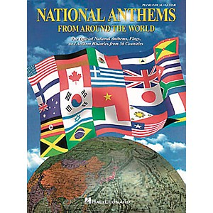 Hal-Leonard-National-Anthems-Piano--Vocal--Guitar-Songbook--Standard