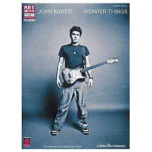Cherry-Lane-John-Mayer-Heavier-Things-Guitar-Tab-Songbook--Standard