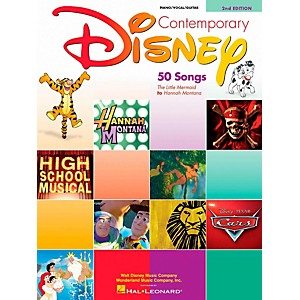 Hal-Leonard-Contemporary-Disney-Piano--Vocal--Guitar-Songbook--Standard