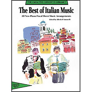 Creative-Concepts-The-Best-of-Italian-Music--Songbook---Standard