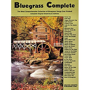 Creative-Concepts-Bluegrass-Complete-Songbook--Standard