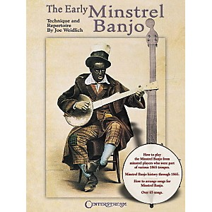 Centerstream-Publishing-The-Early-Minstrel-Banjo-Tab-Songbook--Standard