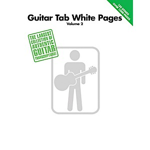 Hal-Leonard-Guitar-Tab-White-Pages-Volume-2-Songbook--Standard