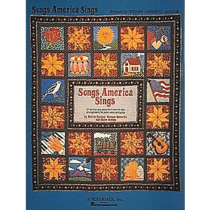 G--Schirmer-Songs-America-Sings-121-Easy-Arrangements-for-Piano--Vocal--Guitar-Songbook--Standard
