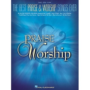 Hal-Leonard-The-Best-Praise---Worship-Songs-EverPiano--Vocal--Guitar-Songbook--Standard