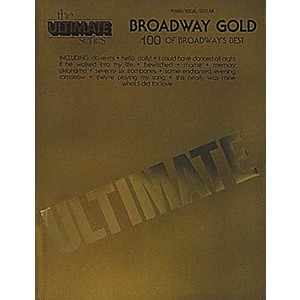 Hal-Leonard-Ultimate-Broadway-Gold-Piano--Vocal--Guitar-Songbook--Standard