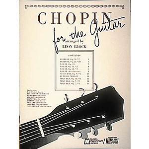 Edward-B--Marks-Music-Company-Chopin-for-Guitar-Book-Standard