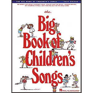 Hal-Leonard-The-Big-Book-of-Children-s-Songs-Easy-Guitar-Tab-Songbook-Standard