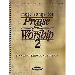 Word-Music-More-Songs-for-Praise---Worship-2-Piano--Vocal--Guitar-Songbook--Standard