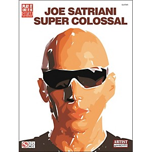 Cherry-Lane-Joe-Satriani-Super-Colossal-Guitar-Tab-Songbook--Standard