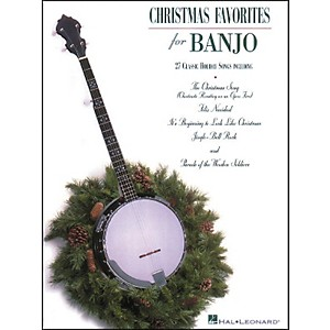 Hal-Leonard-Christmas-Favorites-Tab-Songbook-for-Banjo--Standard