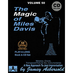 Jamey-Aebersold-The-Magic-of-Miles-Davis-Play-Along-Book-and-CD-Standard