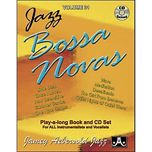 Jamey-Aebersold-Jazz-Bossa-Nova-Play-Along-Book-with-CD--Standard