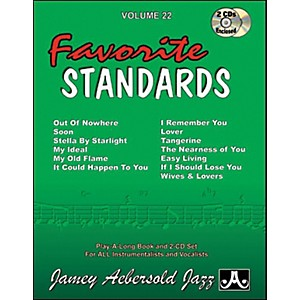 Jamey-Aebersold-Favorite-Standards-Standard