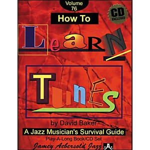 Jamey-Aebersold-How-To-Learn-Tunes-Play-Along-Book-and-CD-Standard
