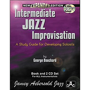 Jamey-Aebersold-Intermediate-Jazz-Improvisation-Book-and-CDs-Standard