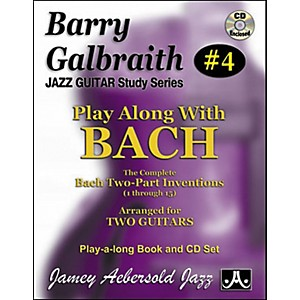 Jamey-Aebersold-Barry-Galbraith-Play-Along-with-Bach-Book-CD-Standard
