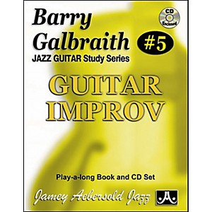 Jamey-Aebersold-Barry-Galbraith---Guitar-Improv-Book-and-CD-Standard