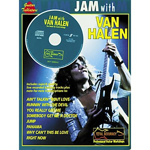 Alfred-Jam-With-Van-Halen-Guitar-Tab-Book-and-CD-Standard