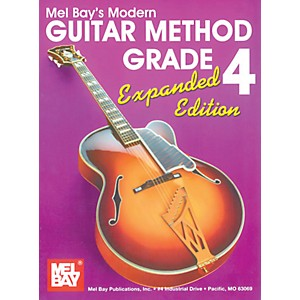 Mel-Bay-Modern-Guitar-Method-Grade-4-Book---Expanded-Edition-Standard
