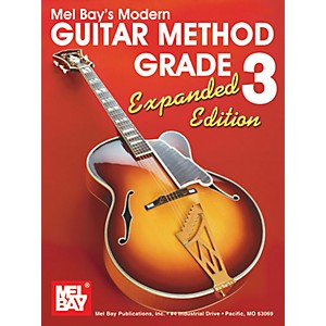 Mel-Bay-Modern-Guitar-Method-Grade-3-Book---Expanded-Edition-Standard