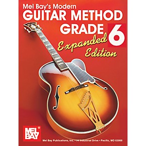 Mel-Bay-Modern-Guitar-Method-Grade-6-Book---Expanded-Edition-Standard