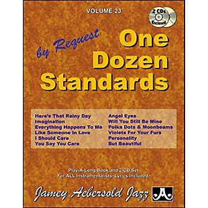 Jamey-Aebersold-Volume-23---One-Dozen-Standards---Book-and-2-CD-Set-Standard