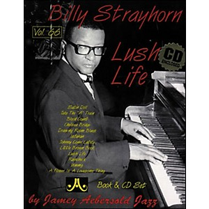 Jamey-Aebersold-Volume-66---Billy-Strayhorn-Lush-Life----Book-and-CD-Set-Standard