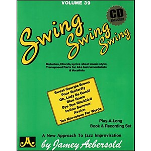 Jamey-Aebersold-Volume-39---Swing--Swing--Swing---Book-and-CD-Set-Standard