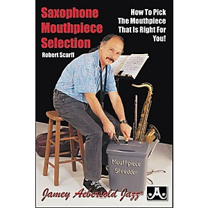 Jamey-Aebersold-Saxophone-Mouthpiece-Selection--Book--Standard