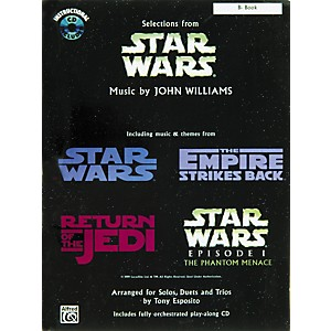 Alfred-Star-Wars-Selections-B-Flat-Instrument-Book---CD-Standard