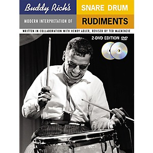Music-Sales-Buddy-Rich-s-Modern-Interpretation-Of-Snare-Drum-Rudiments-2-DVD-Edition-Standard