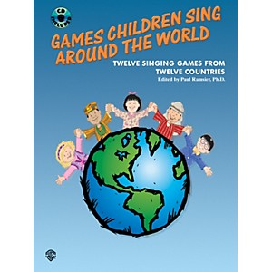 Alfred-Games-Children-Sing-Around-the-World--Book-CD--Standard