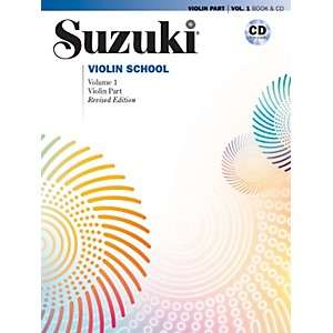 Alfred-Suzuki-Violin-School-Violin-Part---CD-Volume-1-Standard