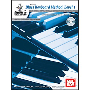 Mel-Bay-Blues-Keyboard-Method--Level-1-Book-and-CD-Standard