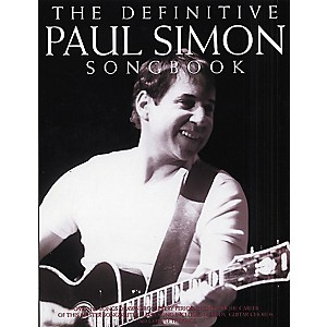 Music-Sales-The-Definitive-Paul-Simon-Piano--Vocal--Guitar-Songbook--Standard