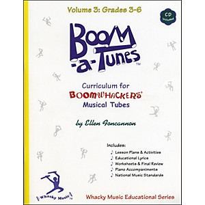 BOOMWHACKERS-Boom-A-Tunes-Curriculum-Volume-3--Book-CD--Standard