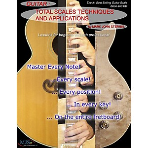 MJS-Music-Publications-Total-Scales-Techniques-and-Applications---Guitar--Book-CD--Standard