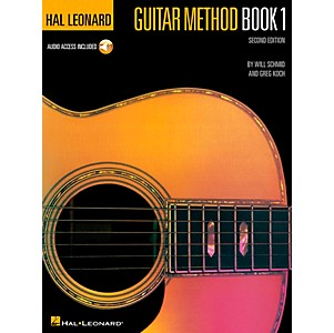 Hal-Leonard-Guitar-Method-Book-1--CD-and-Book--Standard