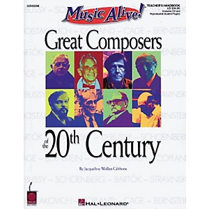 Hal-Leonard-Great-Composers-of-the-20th-Century--Book-CD--Standard